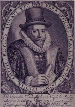 Print of Sir Thomas Smyth, First Governor of the East India Company
