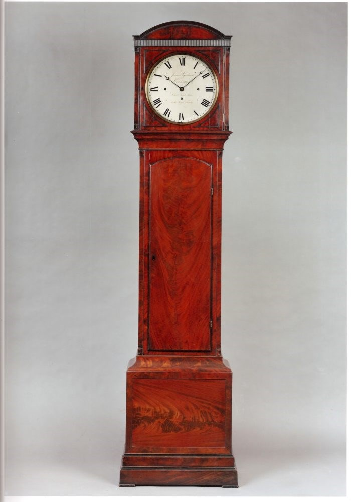Longcase clock by James Gorham. Photo Raffety Clocks.