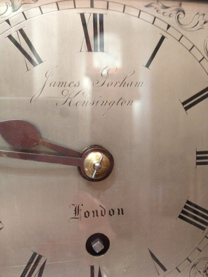 Detail of the clock face. Photo Raffety Clocks