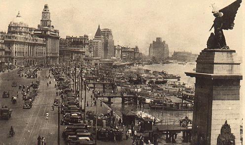 Old Shanghai and the Bund.