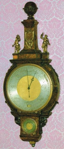 The Tompion Barometer, now at Kensington Palace