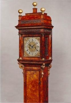A rare miniature longcase clock by Christopher Gould. Raffety Antique Clocks