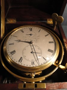 Marine Chronometer, circa mid-nineteenth century by Charles Wieland, Commercial Road, Limehouse. Raffety Antique Clocks