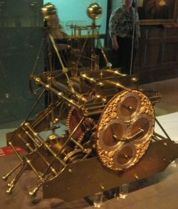 H1 Harrison's first chronometer, now in the National Maritime Museum, Greenwich