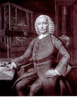 Historic Print of John Harrison