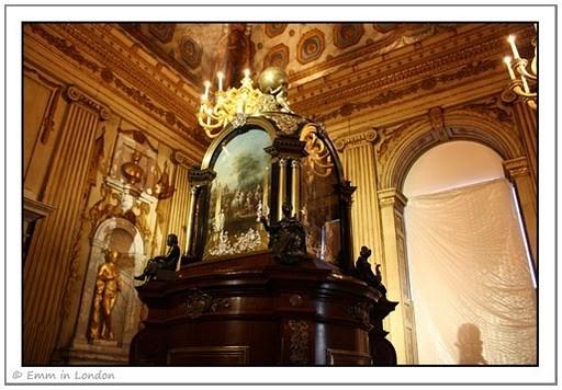 The Musical Clock at Kensington Palace, made for Augusta, Princess of Wales