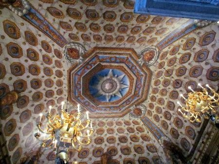 View of the Cupola Room Ceiling, Kensington Palace