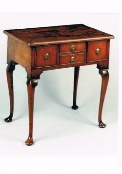 George I period walnut lowboy. Circa 1725. Raffety Ltd.