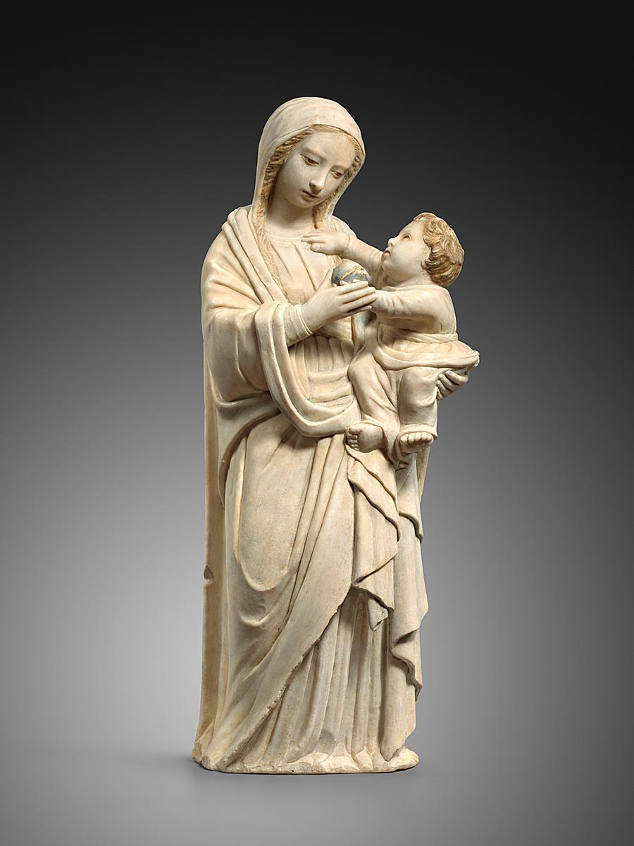ATTRIBUTED TO ANTONELLO GAGINI (1478–1536) - VIRGIN AND CHILD