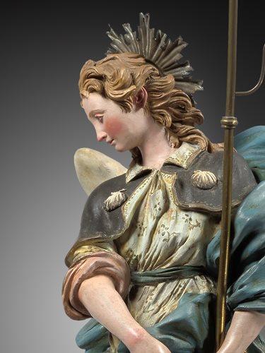 ATTRIBUTED TO  GIUSEPPE SANMARTINO (1720-1793) - ANGEL